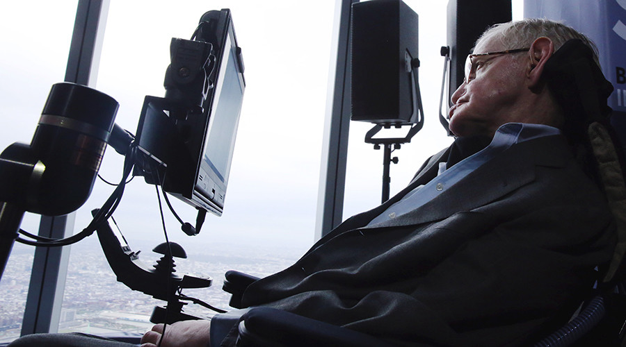 Stephen Hawking plans space voyage on Richard Branson's Virgin Galactic