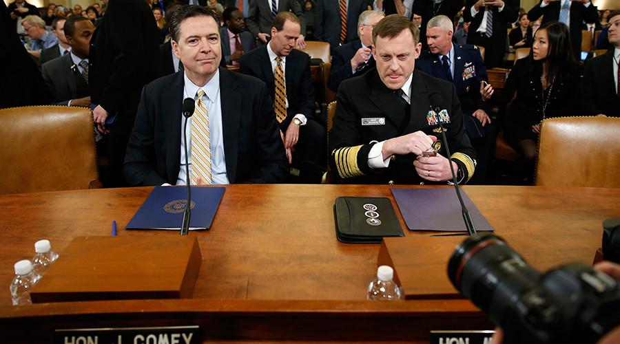 FBI & NSA chiefs testify in Congress on Trump, Russia, wiretapping