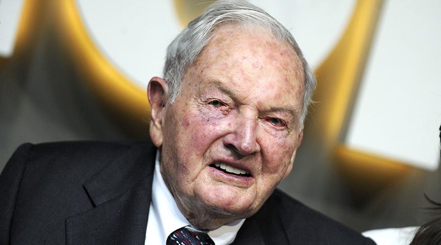 Billionaire banker David Rockefeller dies aged 101