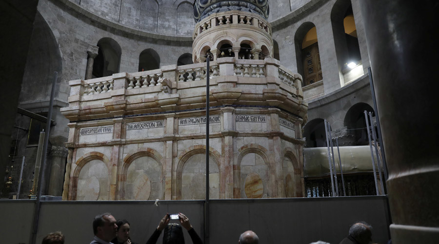 Jesus Christ's 'tomb' opens to public after restoration
