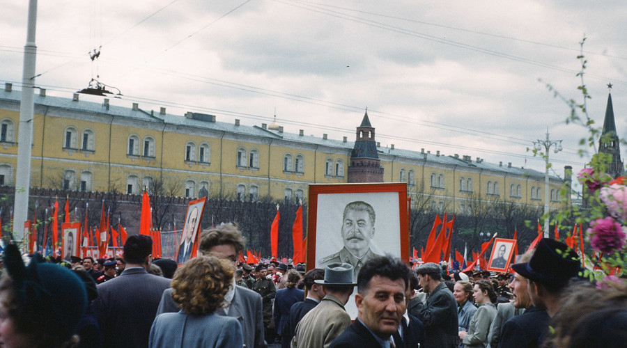'Unlike any city we've ever seen': New images of Stalin-era Moscow released from US 'spy' archive