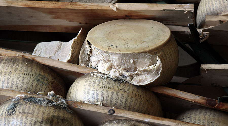 Cheesy bandits: Italian police nab gang suspected of pilfering parmesan (VIDEO)