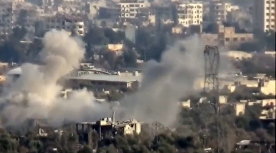 Heavy fighting in east Damascus as Syrian army fends off Nusra-led offensive (VIDEO)