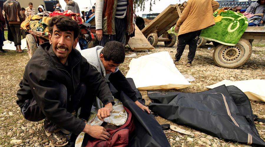 Western MSM ignoring 'unworthy civilian victims' of US-led Mosul attacks