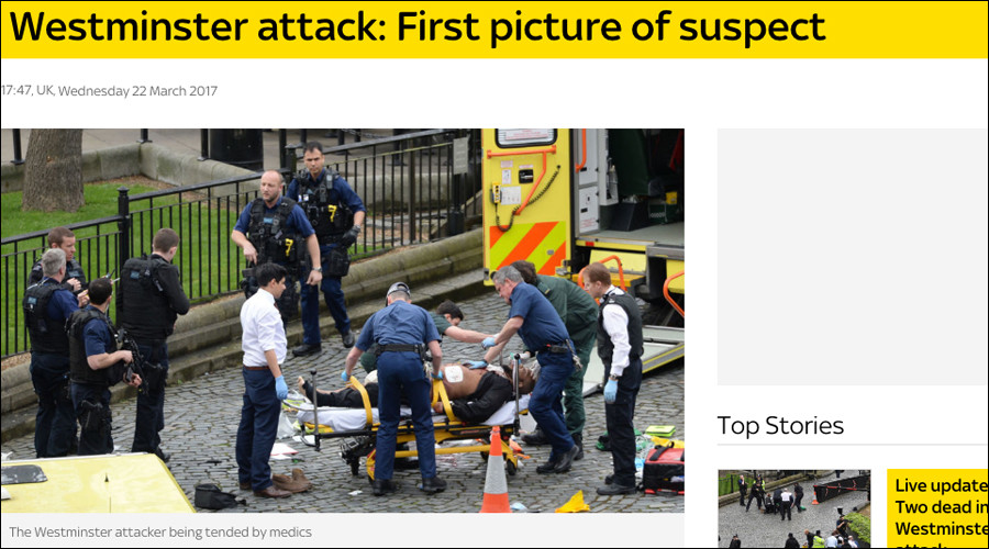 First pictures of London attack suspect emerge online