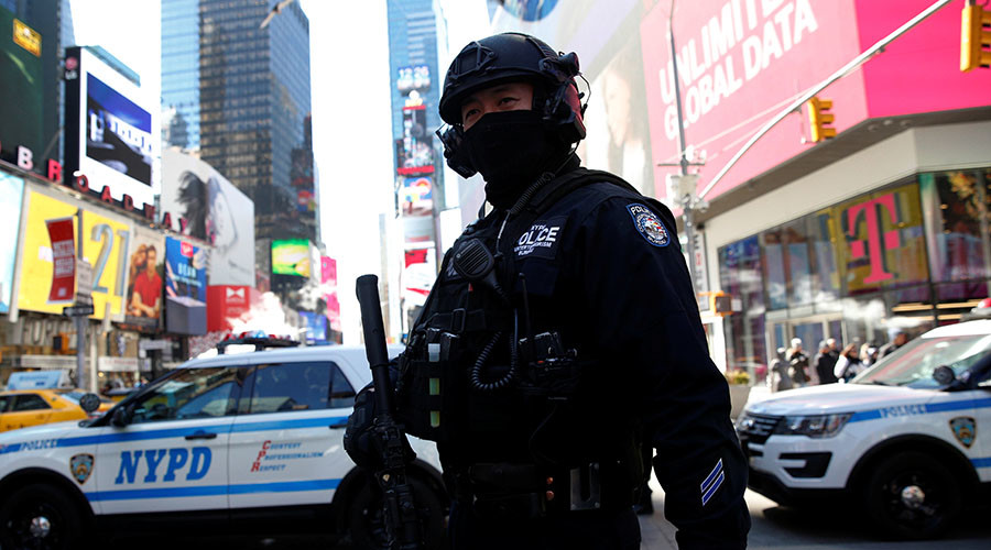 New York police tighten security at British-linked sites following London attack