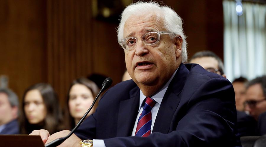 Senate confirms David Friedman as US ambassador to Israel