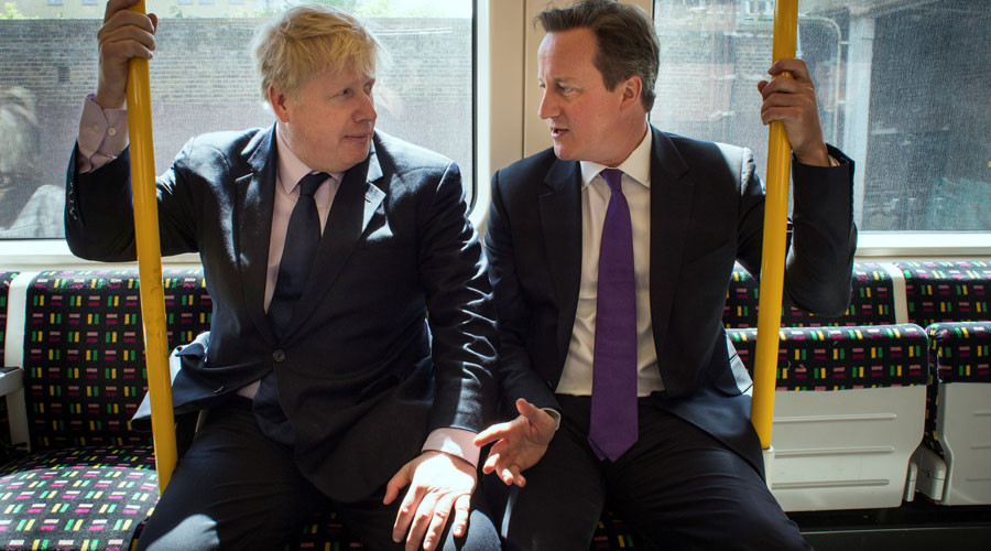 Boris Johnson & David Cameron criticized for New York night out in wake of Westminster attack