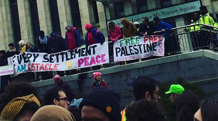 #JewishResistance: Protesters block AIPAC conference calling for end to Israel occupation (VIDEOS)