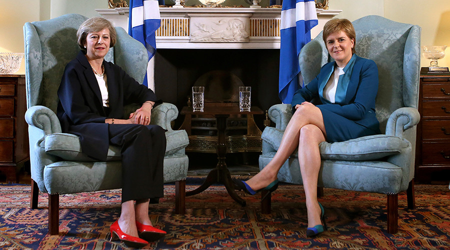PM May to meet Scotland's Sturgeon amid independence referendum tensions