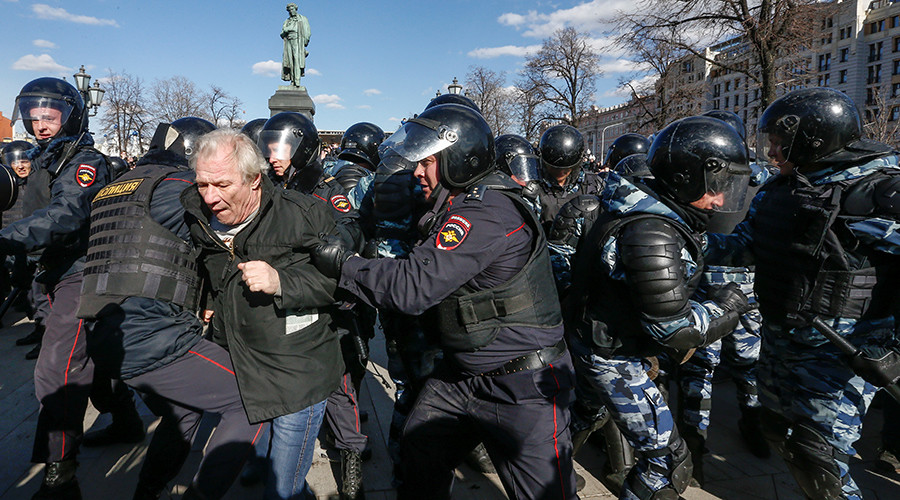 Unauthorized opposition protest was provocation, rally organizers lied to activists – Kremlin