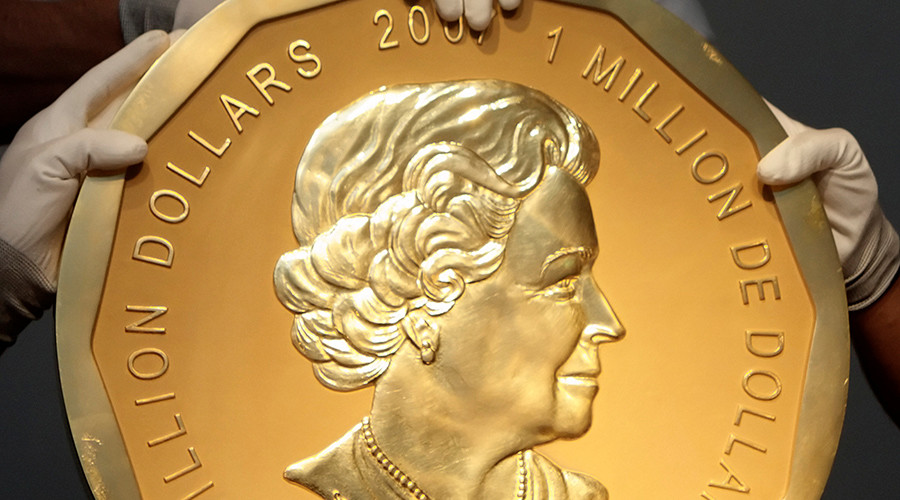 Berlin police launch manhunt over baffling theft of 100kg gold coin (PHOTO)