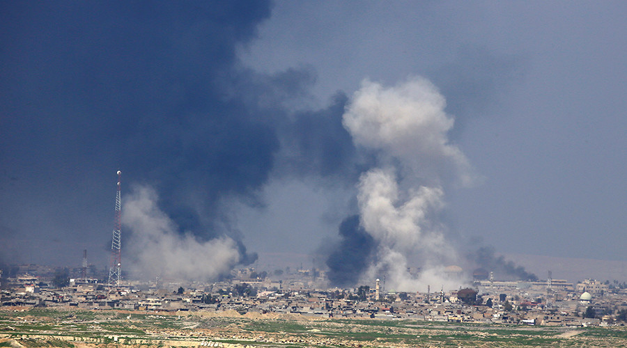 Deadly Mosul bombing - 'astronomic civilian casualties & several killed ISIS members'