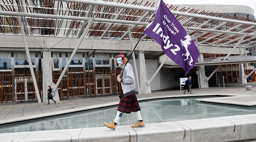 Scottish Parliament backs Nicola Sturgeon's demand for second independence referendum