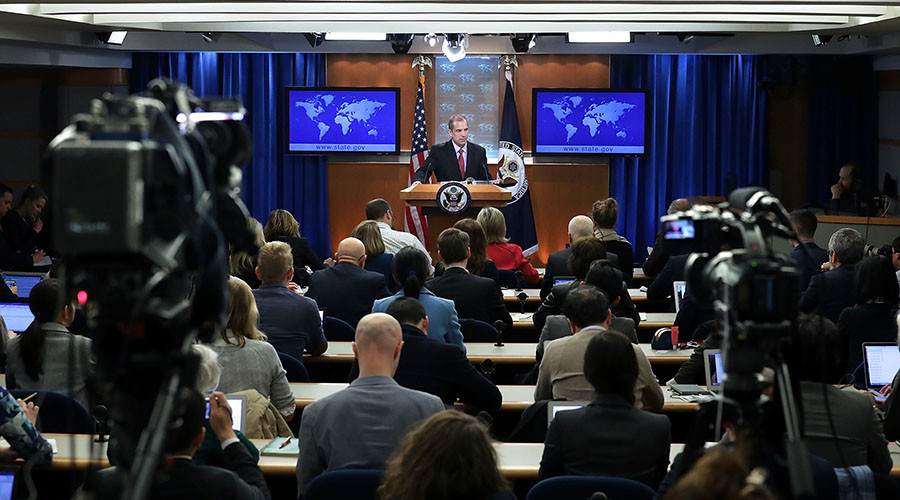 Foggy Bottom blues: State Department suspends press briefings