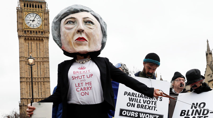 From kissing salmon to 'fascist' posters: 14 iconic pictures that defined Brexit