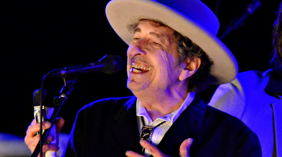 Bob Dylan requests media exclusion when he receives Nobel prize