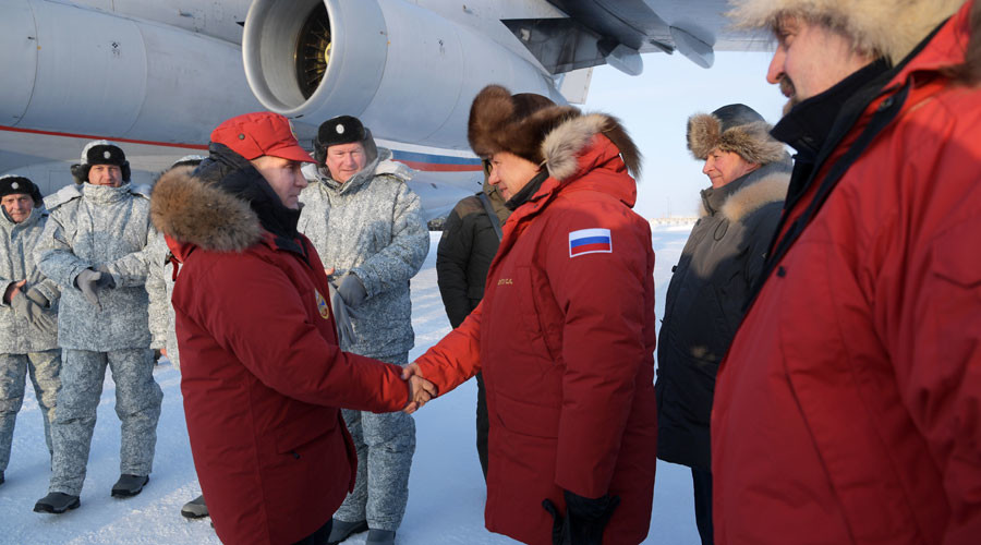 Putin tours desolate northern archipelago amid international Arctic summit