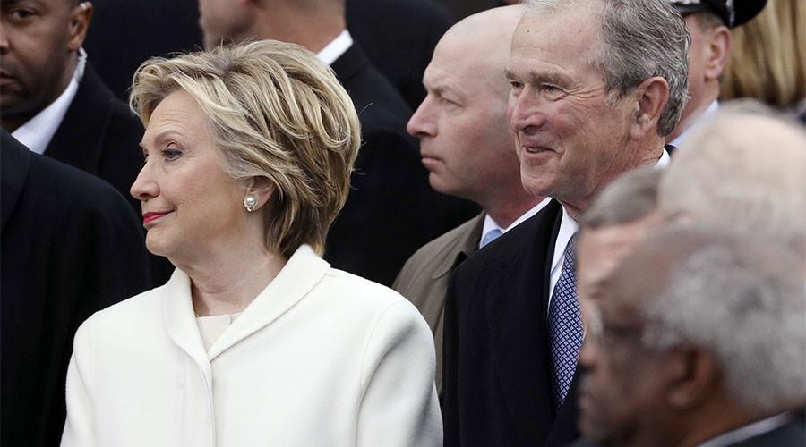 'Some weird sh*t' : George W Bush baffled by Trump's inauguration speech