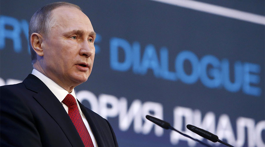 Putin blasts opposition politicians for using protests as 'campaign spin'