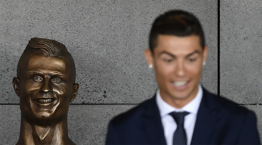 Sculptor behind bizarre Ronaldo bust revealed