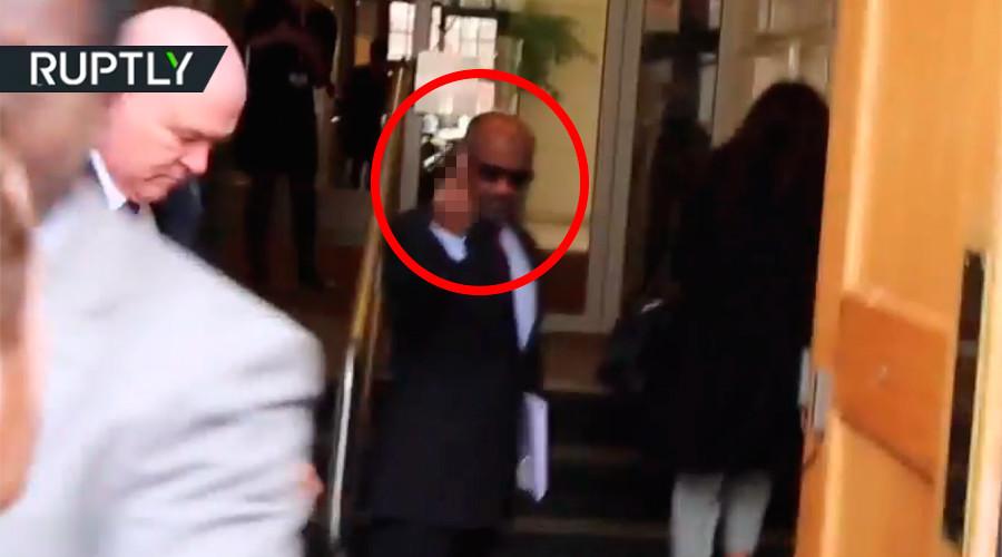 Saudi General dodges citizen's arrest in London over Yemen atrocities (VIDEO)