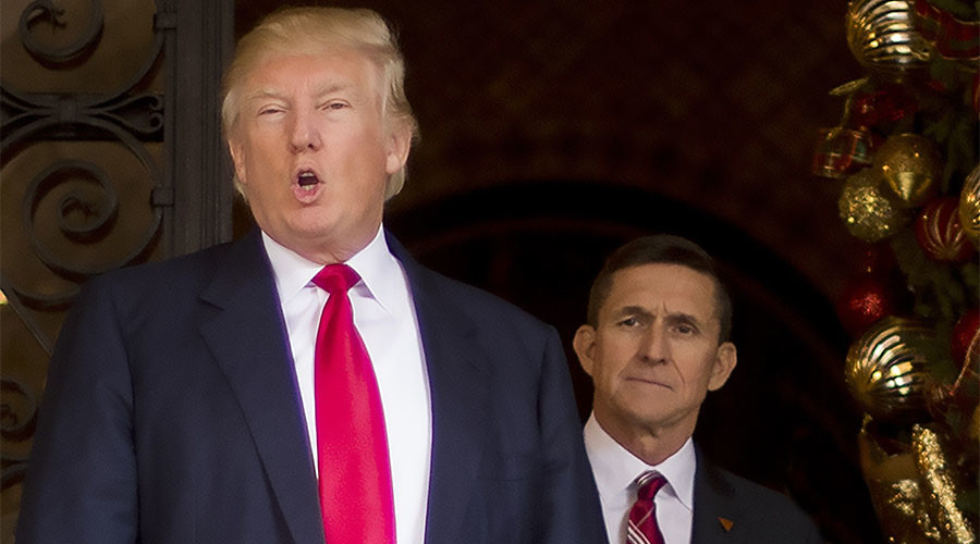 Trump supports Flynn immunity request in 'witch hunt' Russia ties probe