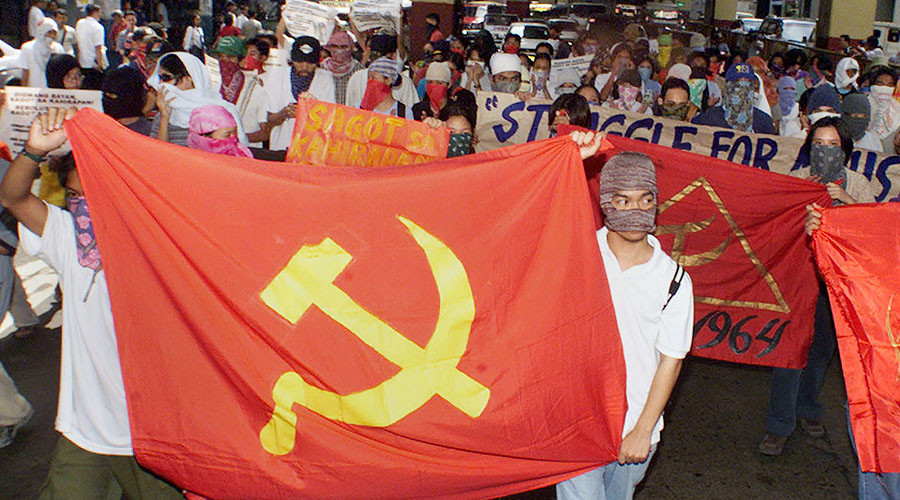Filipino communists call for 'armed revolution' against 'US imperialism'
