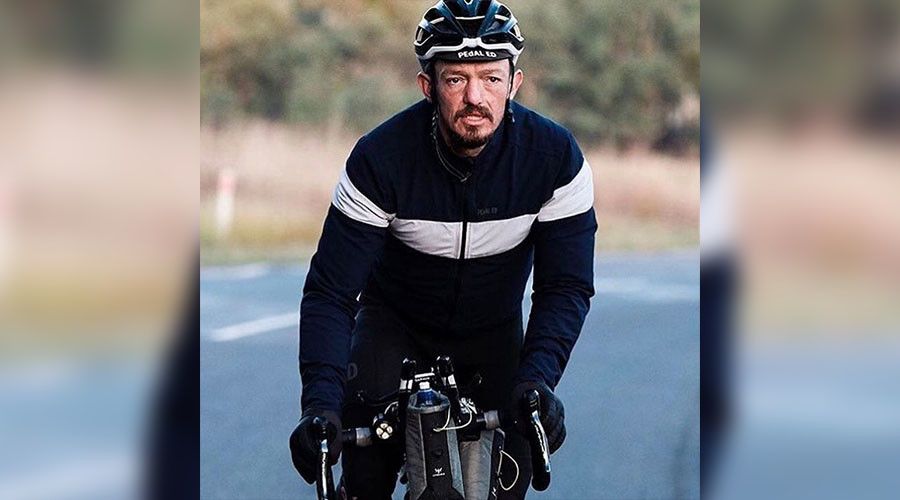 British cyclist killed in car collision during Australian solo endurance race