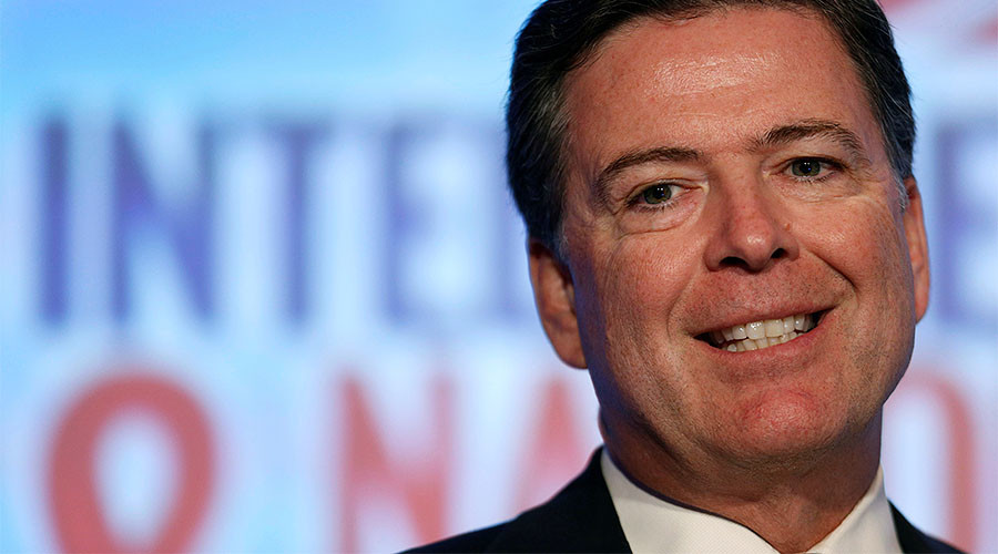 James Comey's secret Twitter account allegedly exposed & he seems impressed