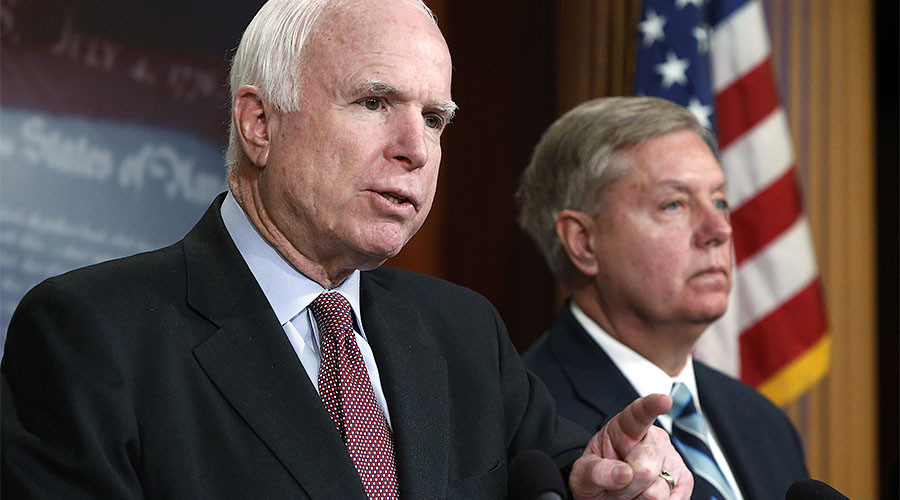 'Crushing news': McCain, Graham furious over Syria policy change