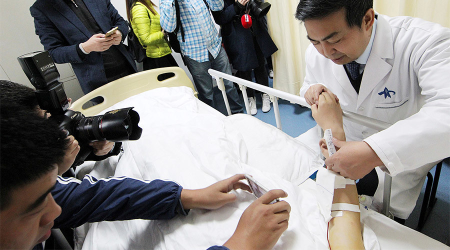 Hearing aid: Chinese surgeons transplant arm-grown ear to man's head