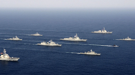 FILE PHOTO: Navy vessels of South Korea and the United States © South Korean Navy
