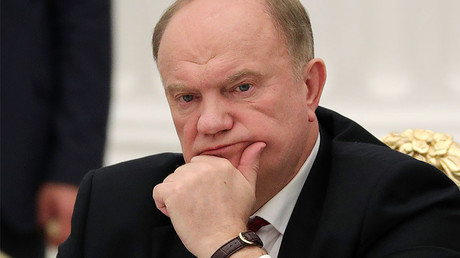 Gennady Zyuganov, chairman of the Central Committee of the Russian Communist Party © Mikhail Klementiev