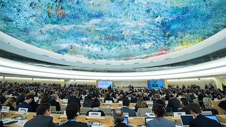 UN Human Rights Council (HRC) © Xu Jinquan