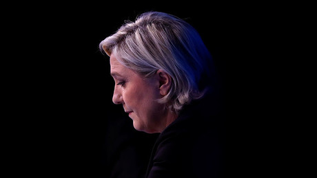 Marine Le Pen, French National Front (FN) political party leader. © Christian Hartmann