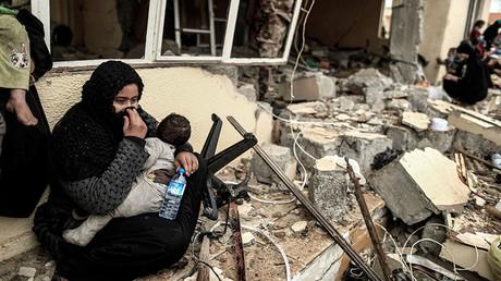 Western Mosul, Iraq March 2, 2017. © Zohra Bensemra