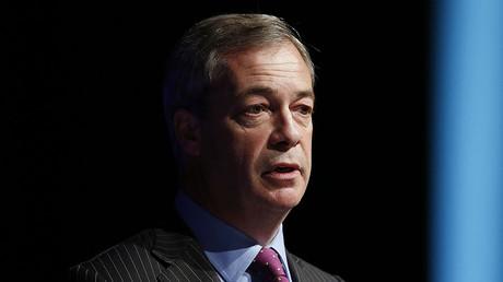 Former United Kingdom Independence Party (UKIP) leader Nigel Farage. ©Andrew Yates