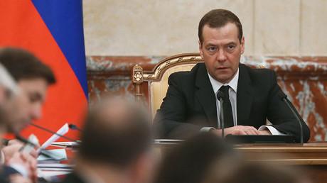 Russian Prime Minister Dmitry Medvedev. ©Ekaterina Shtukina