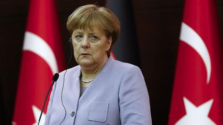 German Chancellor Angela Merkel. ©Umit Bektas