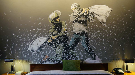 Staff in the hotel did not know Banksy was behind it until just before it opened. ©banksy.co.uk