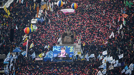 Massive pro & anti-govt rallies held in South Korean capital