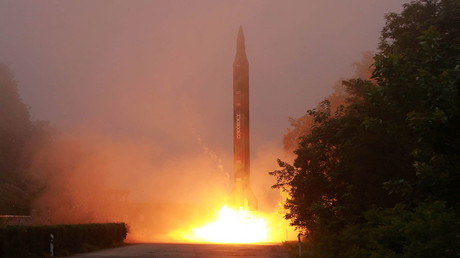 ARCHIVE: North Korean ballistic missile test-launched during an exercise of the Hwasong artillery units © KCNA