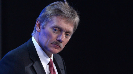 Russian President's press secretary Dmitry Peskov © Alexey Filippov