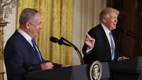 U.S. President Donald Trump (R) and Israeli Prime Minister Benjamin Netanyahu © Carlos Barria