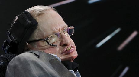 Physicist Stephen Hawking. ©Lucas Jackson