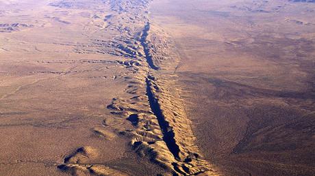San Andreas fault © Francois Gohier