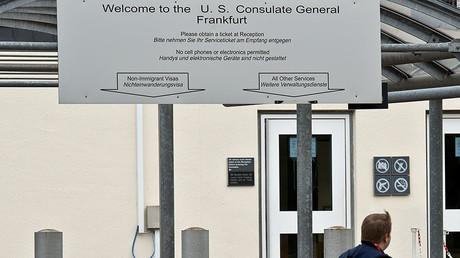 The US consulate in Frankfurt am Main, western Germany. © DPA / Boris Roessler