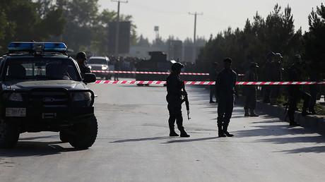 FILE PHOTO: Afghan policemen, Kabul © Omar Sobhani