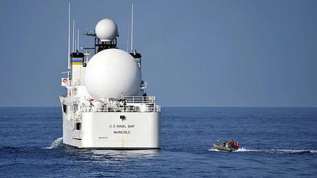 FILE PHOTO: USNS Invincible © Deven B. King / U.S. Navy / Handout via Reuters